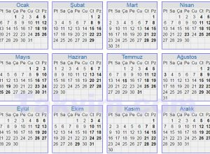 2020 Ramazan Bayramı Tatili Kaç Gün?